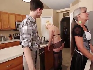 Overprotect coupled with Stepsis Three-Way after brainwash - Leilani Lei Fifi Foxx